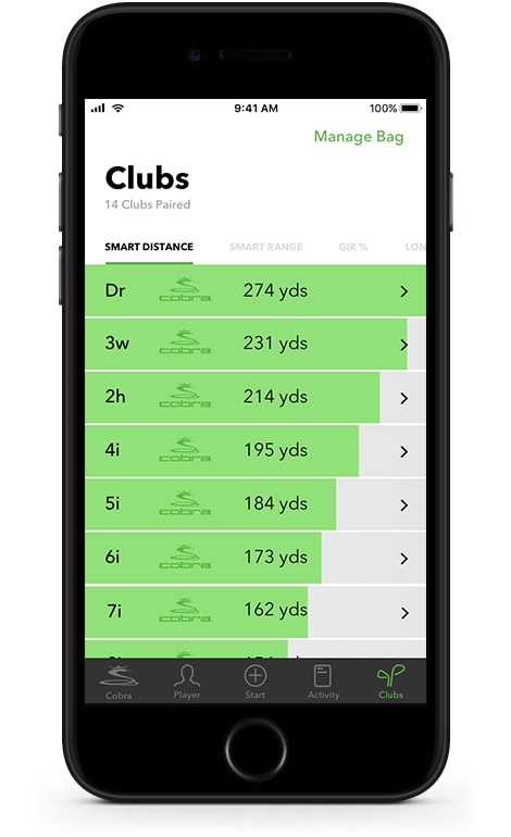 Clubs Manage Your Bag