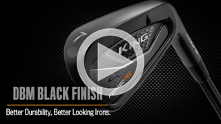 KING Forged Tec Black Irons