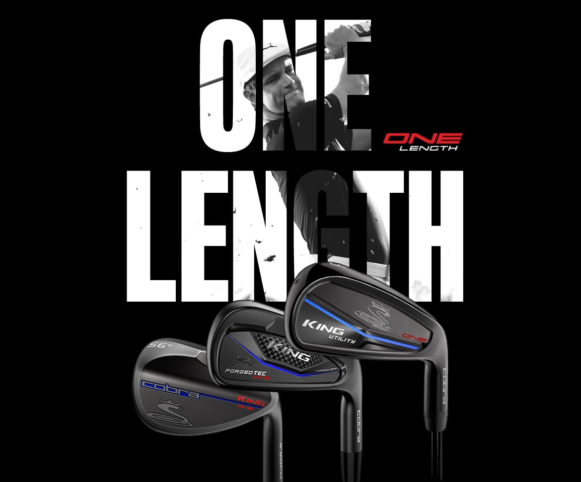 BLACK ONE Length Irons